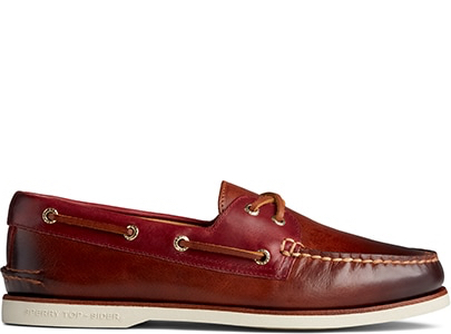 Red Leather Gold Cup.