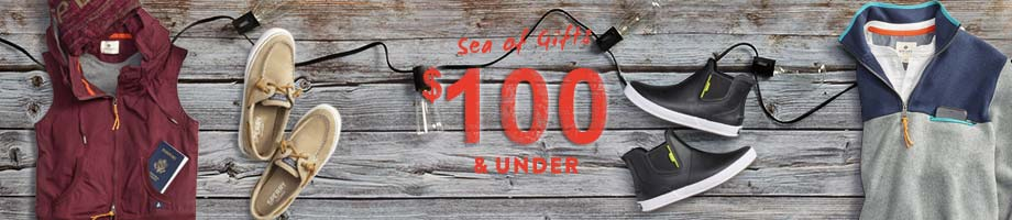 Sea of Gifts. $100 & under