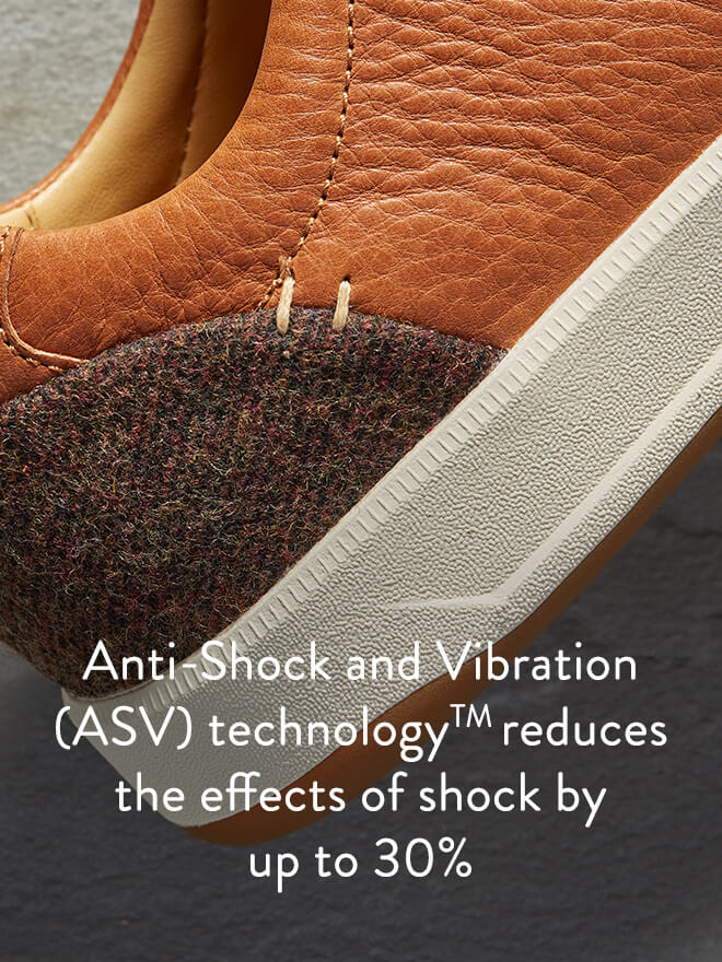 Anti-Shock and Vibration (ASV) technology reduces the effects of shock by up to 30%.