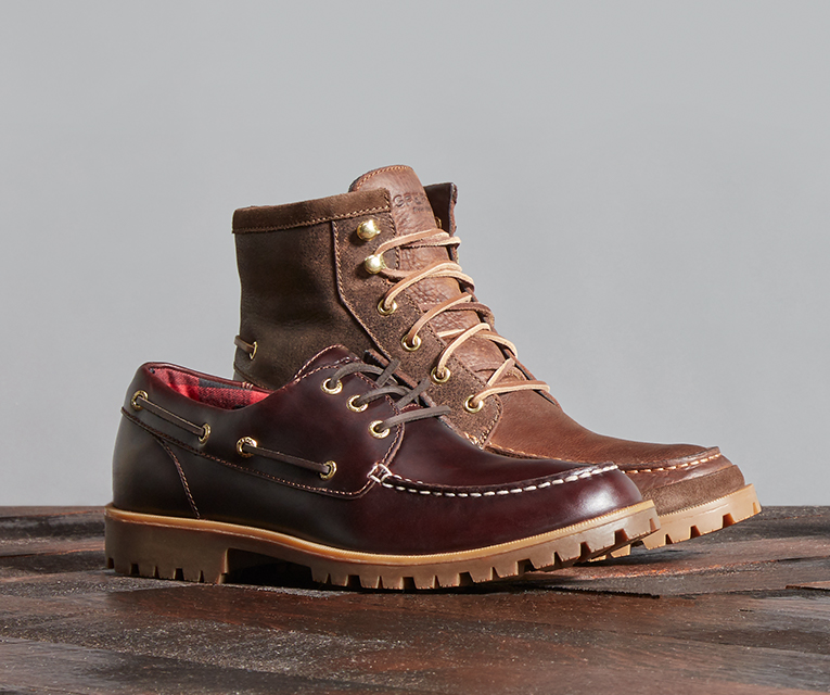 Mens Lug Boots