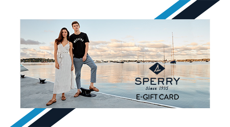 SPERRY. Since 1935. E-GIFT CARD.