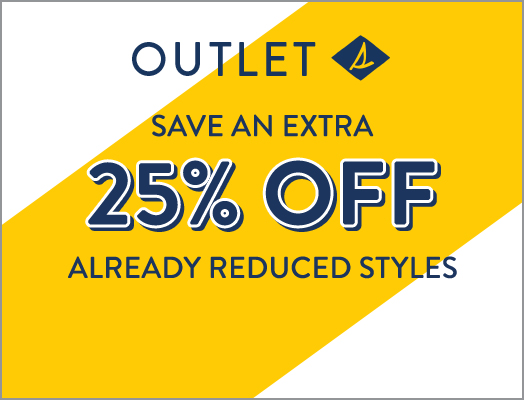 Outlet | Save an Extra 25% Off Already Reduced Styles