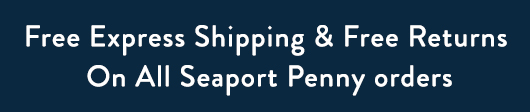 Free Express Shipping & Free Returns on Seaport Penny orders