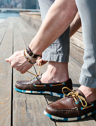 Sperry Top-Sider Men's Camo Print Boat Shoes.