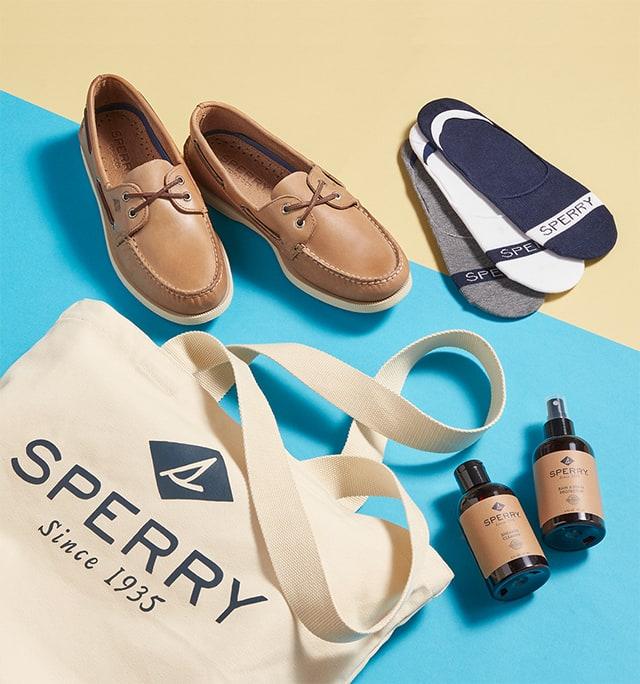 Men's boat shoe bundle.