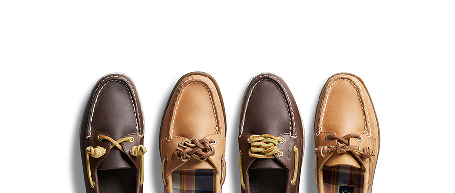 Sperry Lacing Guide