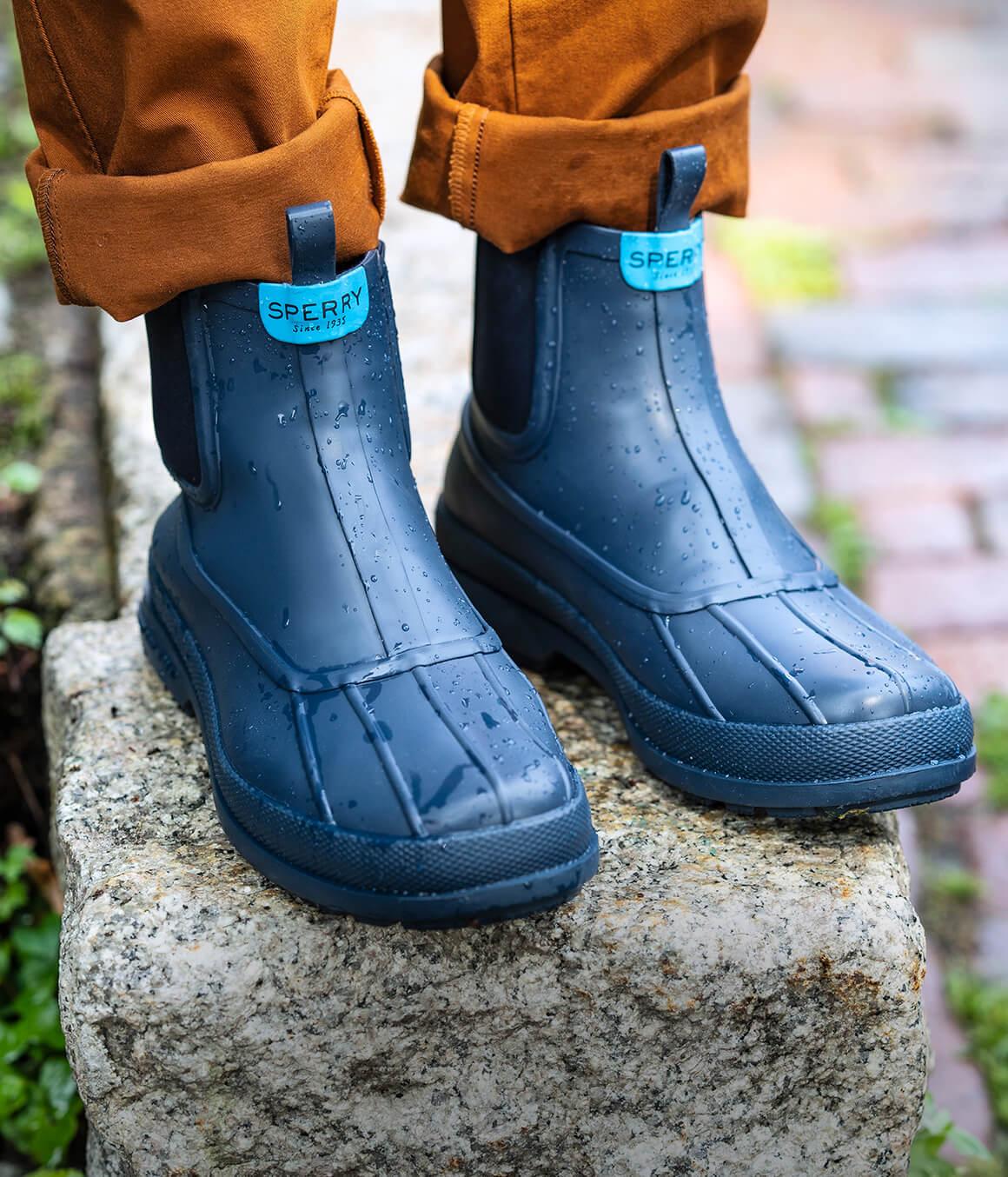 Men's Chelsea boots.