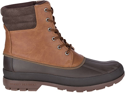 Two tone brown boot.