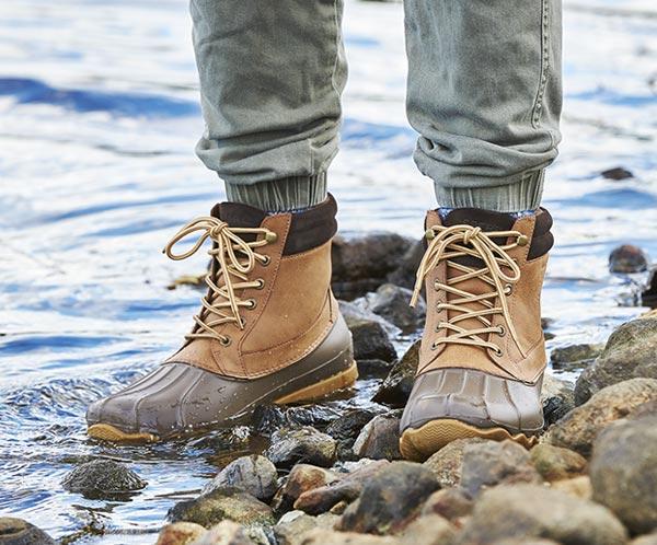 Men's Duck Boots, Rain Boots