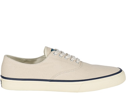 White Sperry Cloud Shoe.