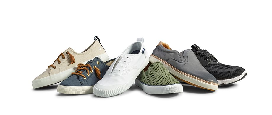 Sperry Shoes For Men Bahama Linen Sneaker