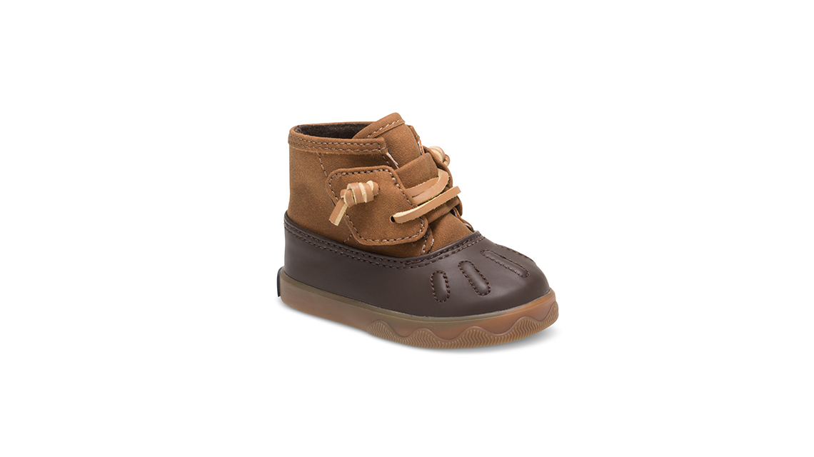 Easy on and off Sperry kids shoe