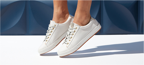 Women's Sperry White Sneakers.