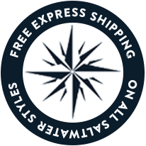 Free Express Shipping On All Saltwater Styles