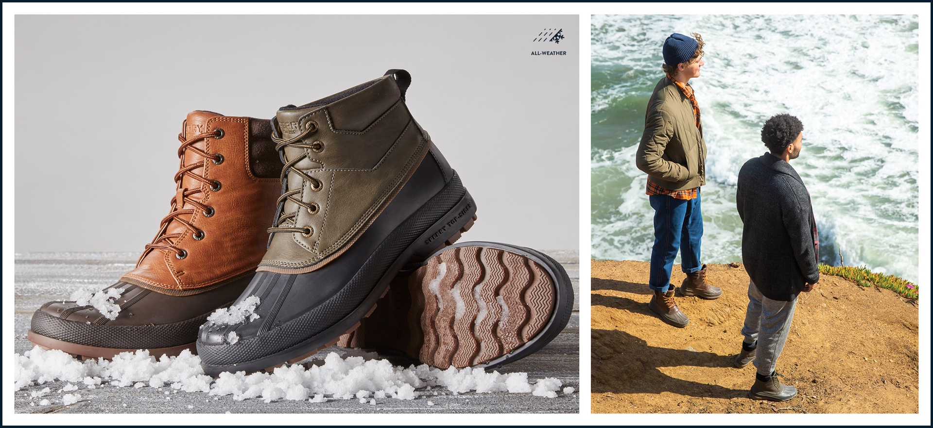 Boots by Sperry: All-Weather
