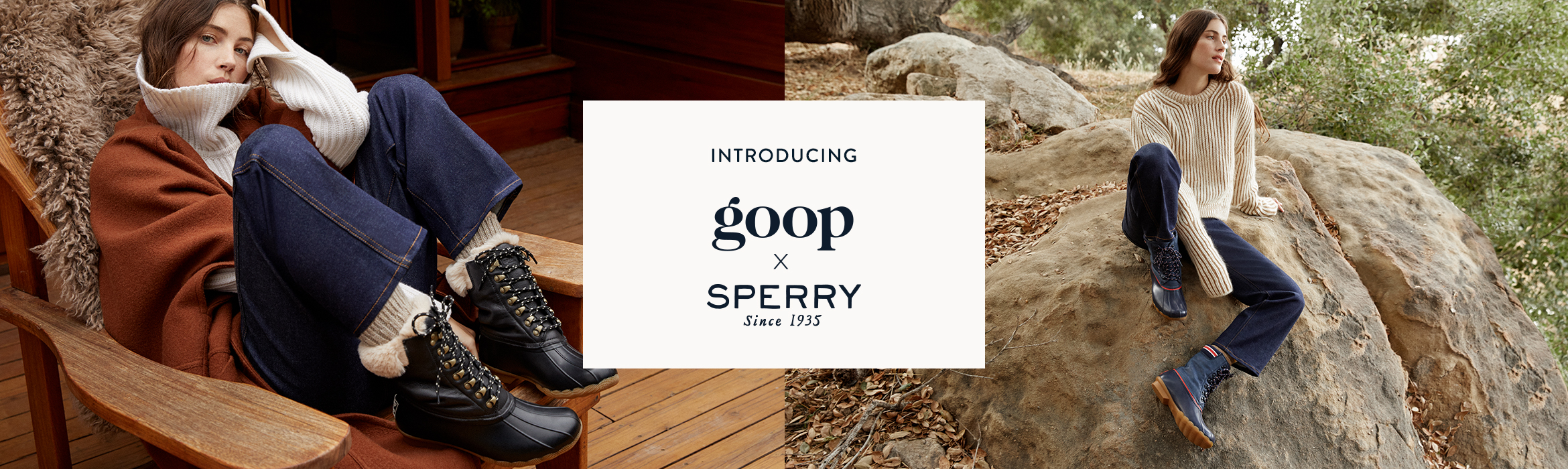 Introducing Goop & Sperry