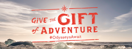 Give the Gift of Adventure. #OdysseysAwait
