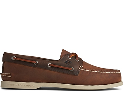Brown Sperry Boat Shoe.