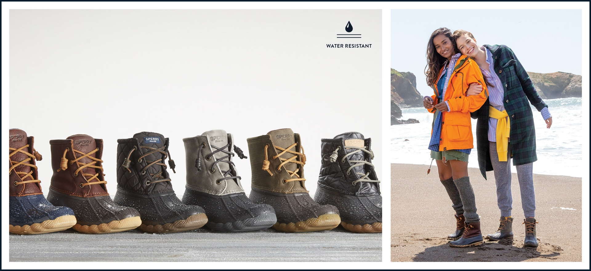 Boots by Sperry: Water Resistant