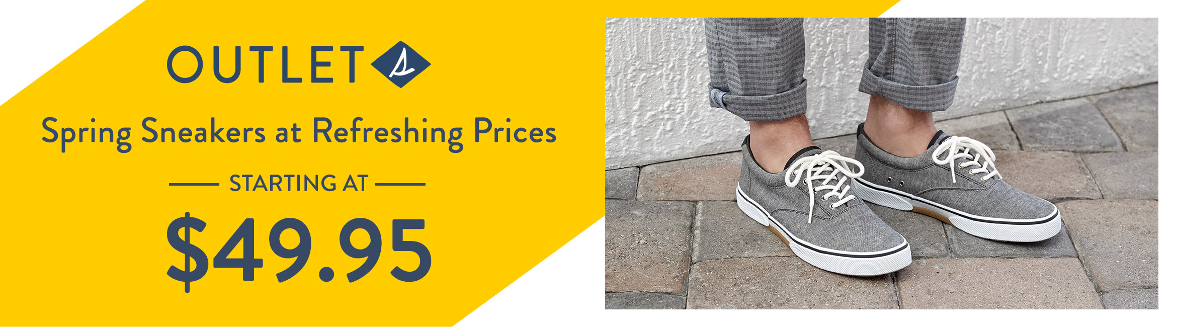 Sperry Outlet. Spring Sneakers at Refreshing Prices - Starting At - $49.95