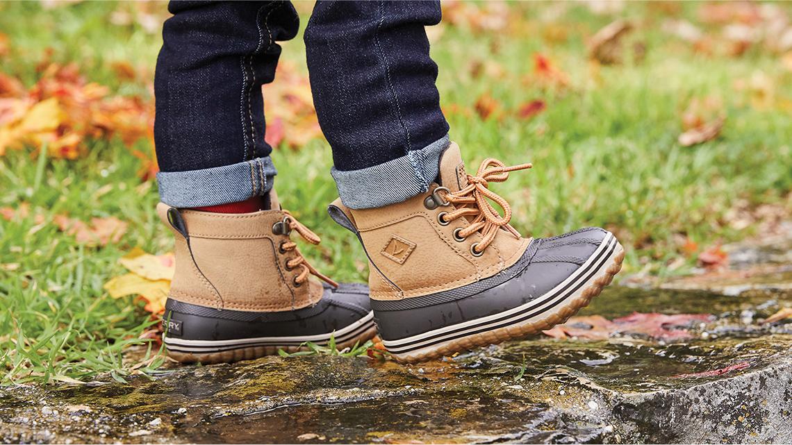 Boys boots.