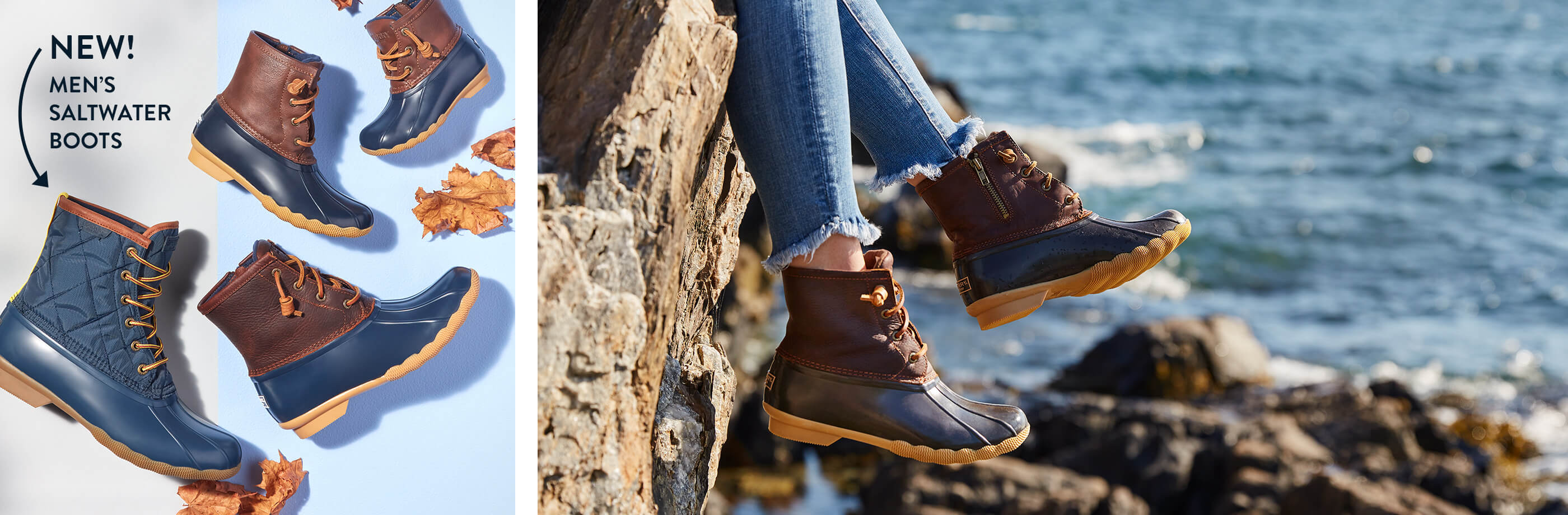 NEW! Men's Saltwater Boots.