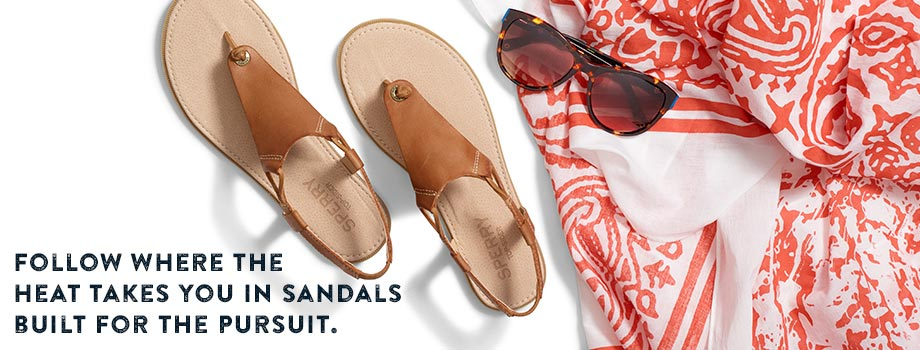 Follow Where The Heat Takes You In Sandals Built For The Pursuit.